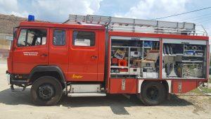 masina pompieri Sinca